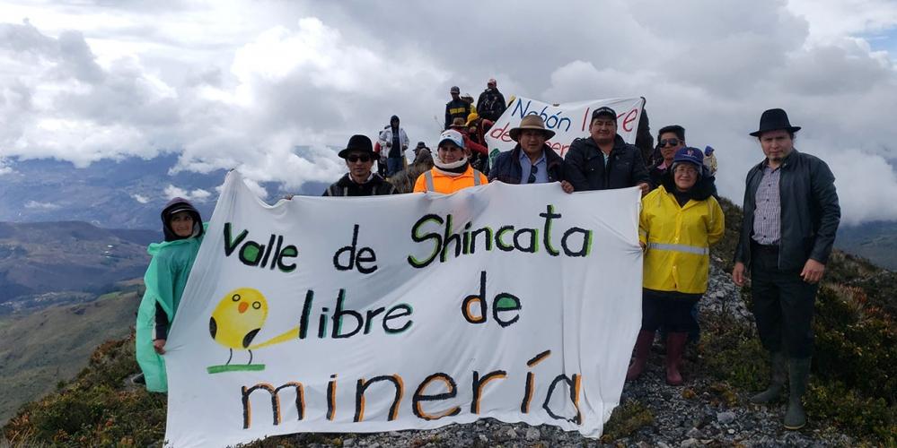 Autoridades del cantón Yacuambi, realizaron un recorrido por el límite interprovincial Zamora Chinchipe y El Azuay